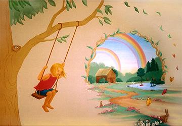 Z Children's Mural LindaLuisi